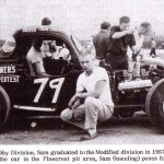 Photo by Robert Turner - 1961 Pinecrest Speedway - Sam Snider - 79