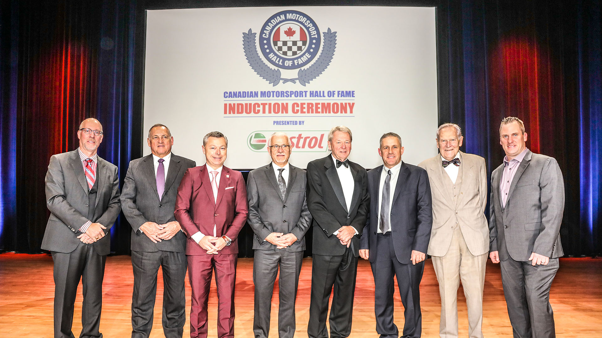 See the Inductees for the Canadian Motorsport Hall of Fame